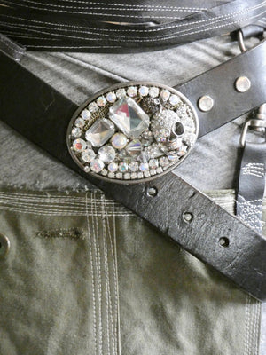 One of a Kind Vintage Belt Buckle