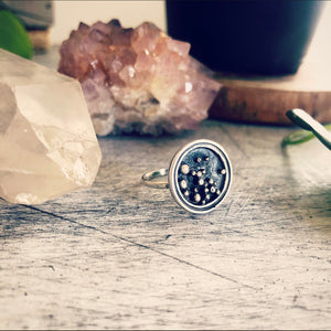 Small Stargazer Ring