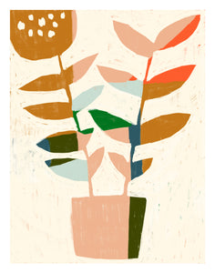 Abstract Plant no.3 Print