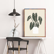 Load image into Gallery viewer, Alocasia Houseplant Print