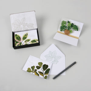 Potted Plants Boxed Notes