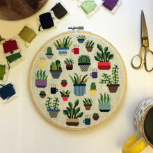 Load image into Gallery viewer, Botany Cross Stitch Kit