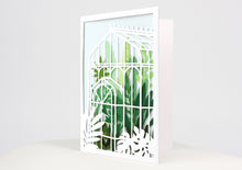 Load image into Gallery viewer, Glass House Greeting Card (Set of 2)