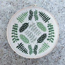 Load image into Gallery viewer, Ferns Light Cross Stitch Kit