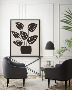 Monstera Obliqua no.1 Print