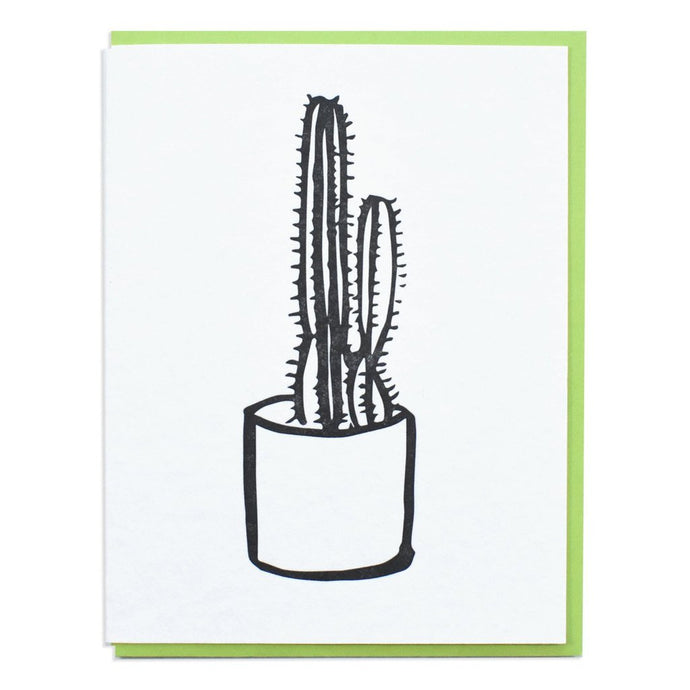 Cactus Letterpress Greeting Cards (Set of 6)