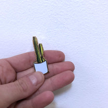 Load image into Gallery viewer, Cactus Enamel Pin