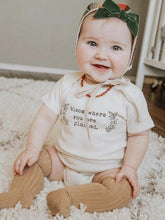 Load image into Gallery viewer, Bloom Where You Are Planted - Organic Onesie, Short Sleeve