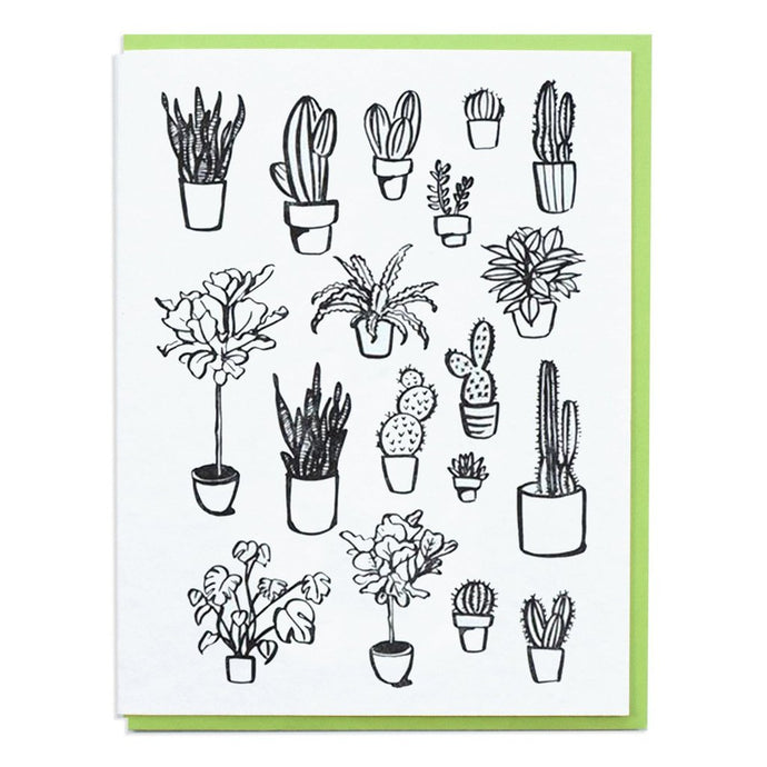 Planttern Letterpress Cards (Set of 6)