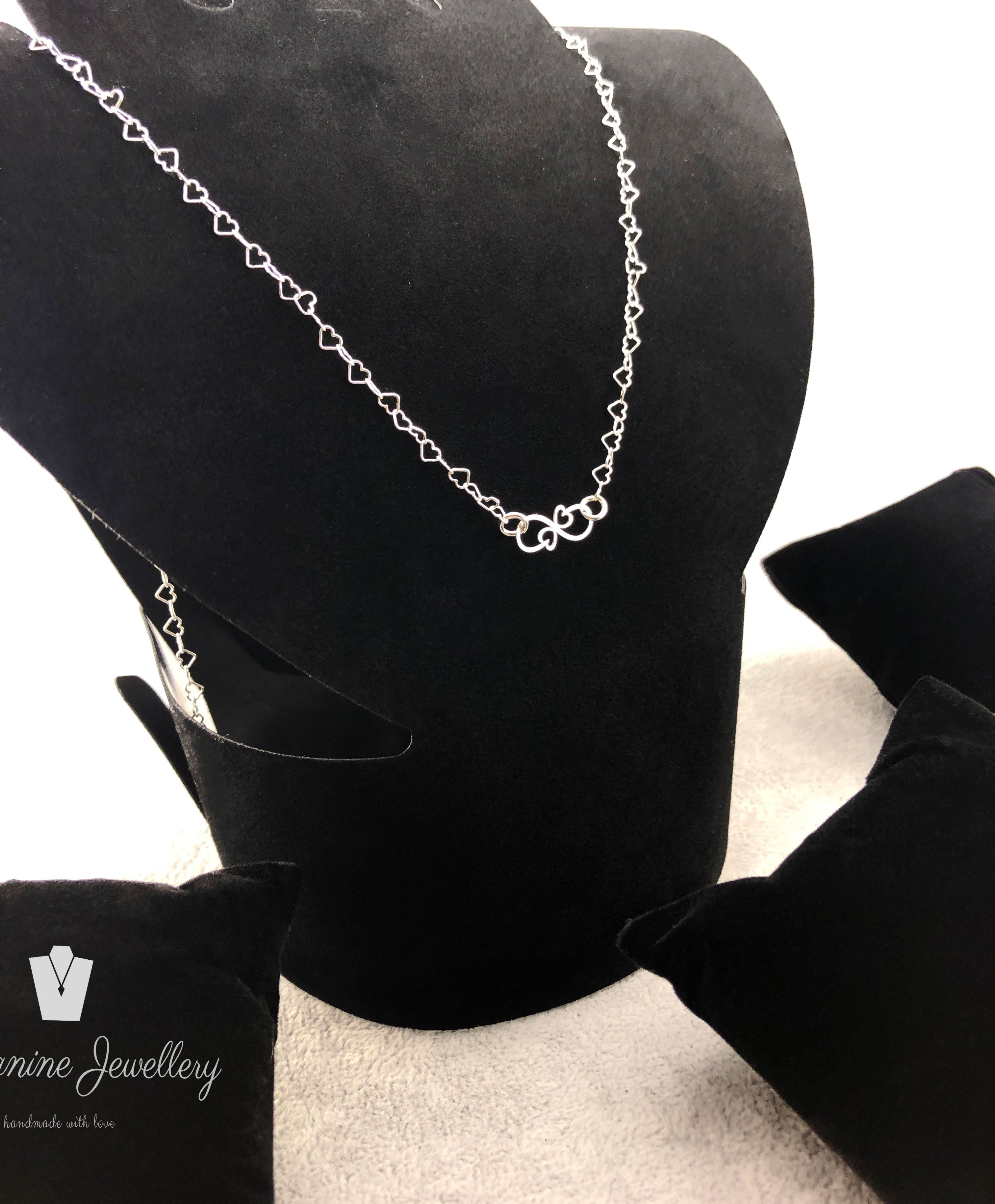 Set heart & Infinity - By Janine Jewellery