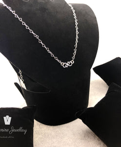Necklace Heart & Infinity - By Janine Jewellery
