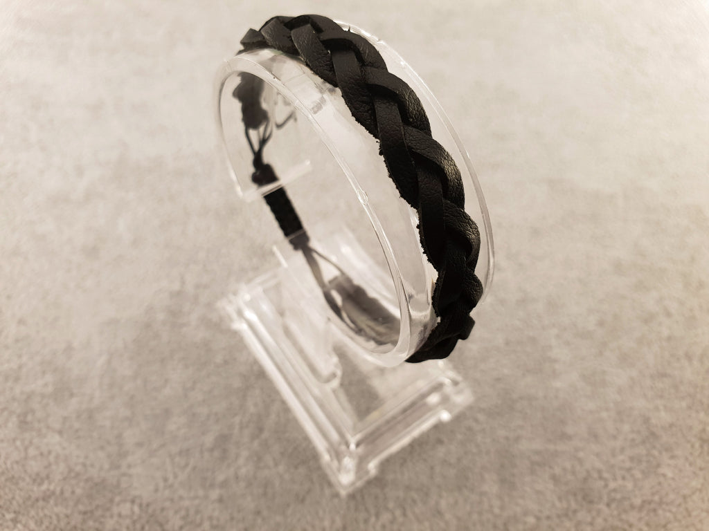 Woven Leather | BLACK - By Janine Jewellery