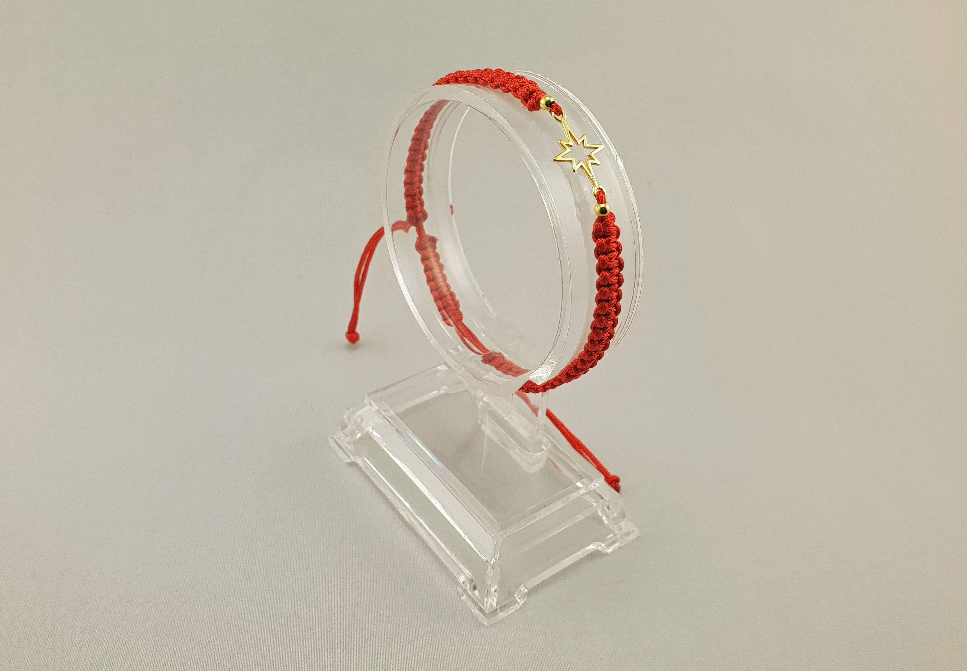 Woven Bracelet - RISING STAR | RED - By Janine Jewellery