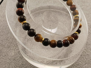 Tiger eye beads - By Janine Jewellery