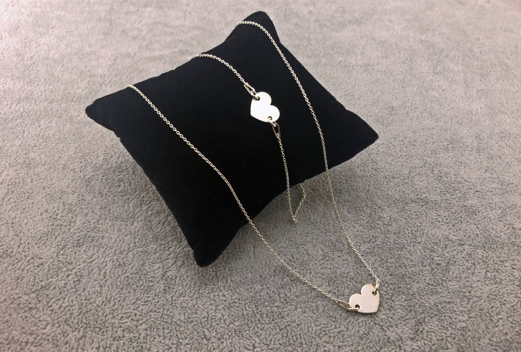 SET Heart - 925 Silver Collection - By Janine Jewellery