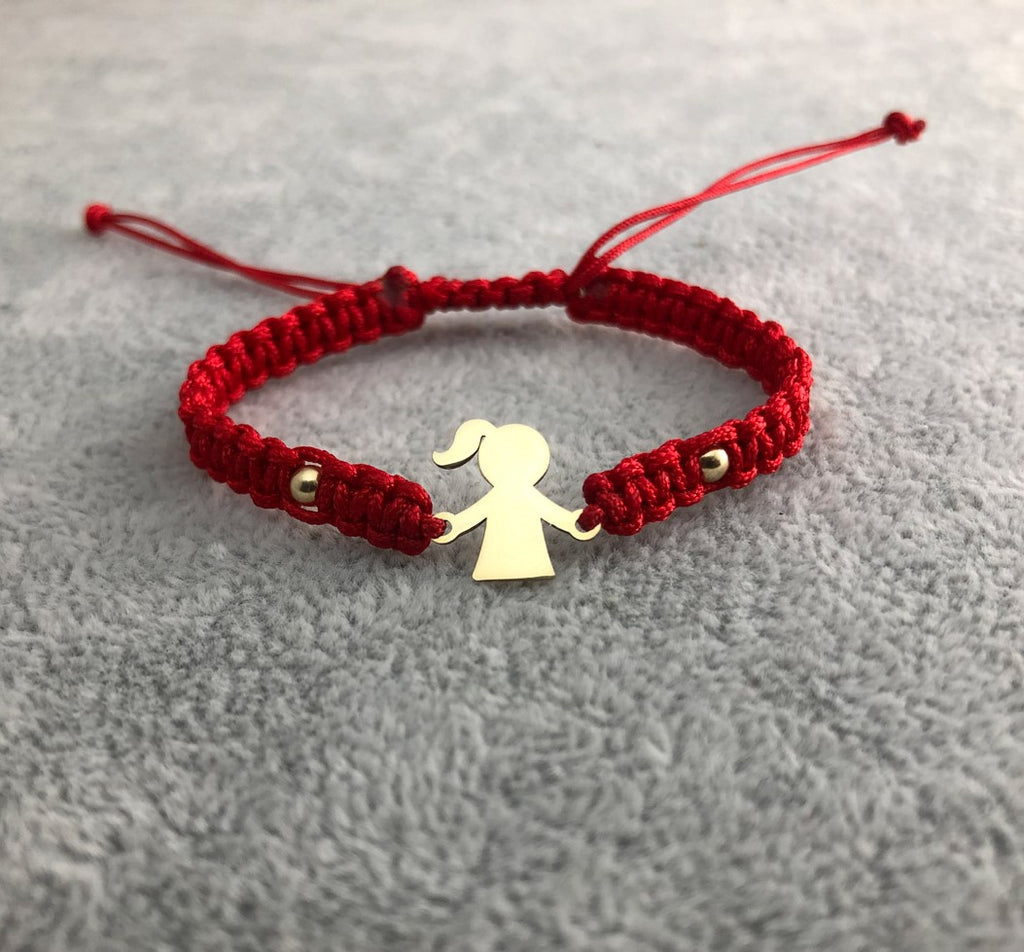 Little Girl Bracelet - 14K Gold