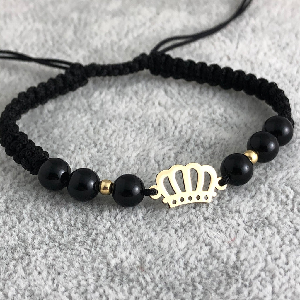 Crown bracelet -Gold 14K