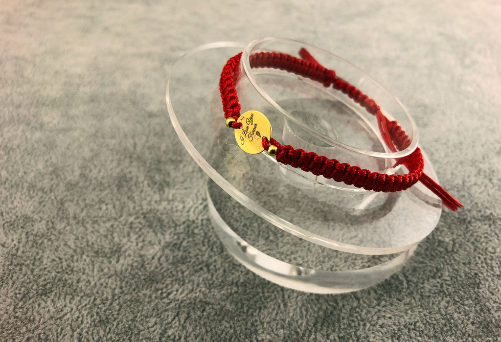 I Love You Forever - Woven bracelets - By Janine Jewellery