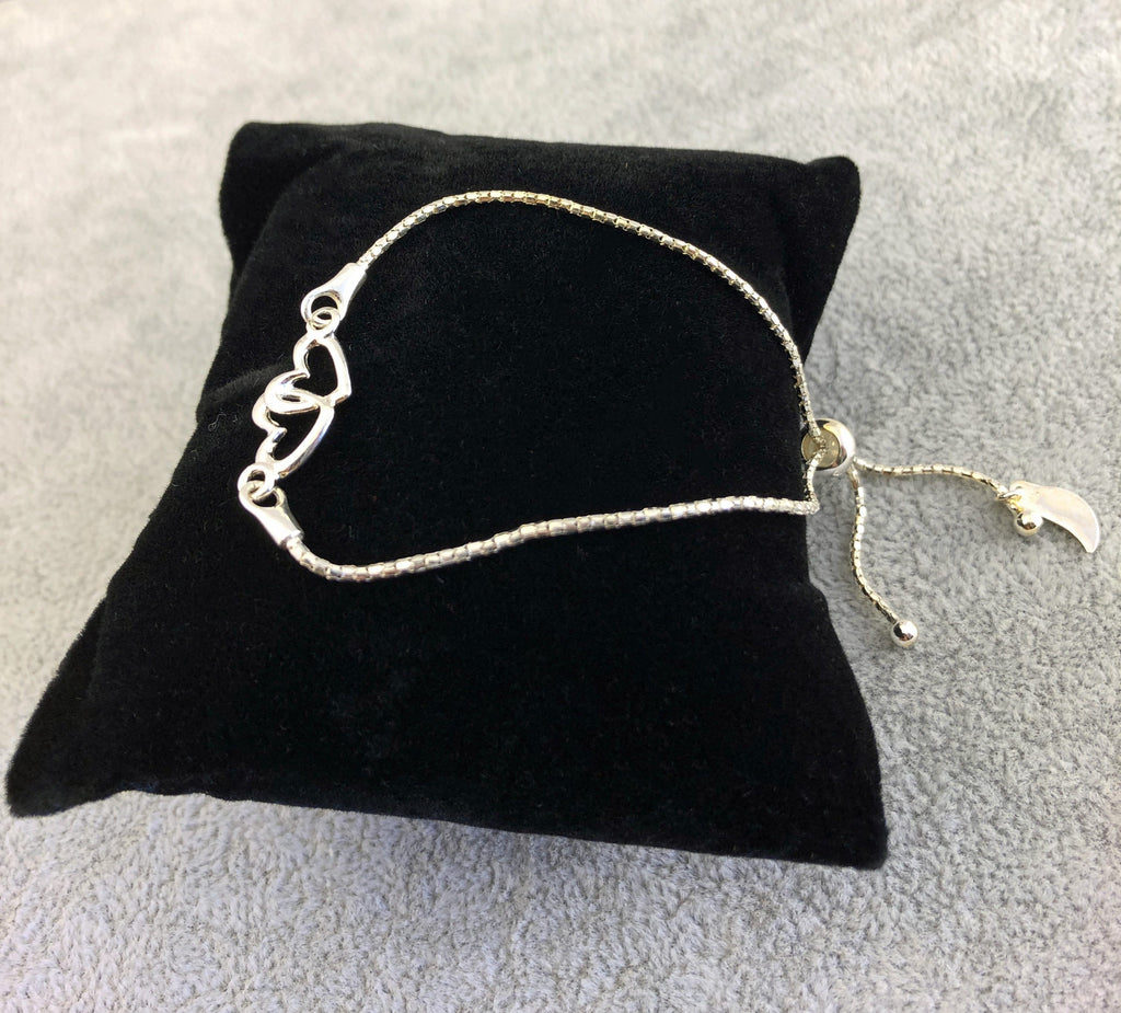 Bracelet - CONNECTED HEARTS - By Janine Jewellery