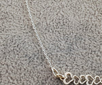 925 Silver Necklace - FIVE HEARTS - By Janine Jewellery