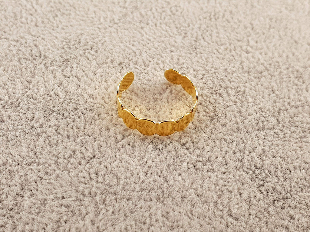 GOLD PLATED RING - By Janine Jewellery