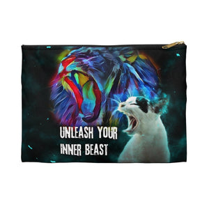 """Unleash Your Inner Beast"" Pouch"