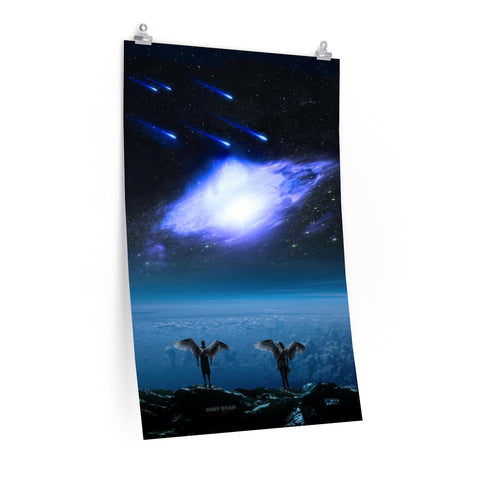 """Looking Up"" Premium Matte vertical posters"