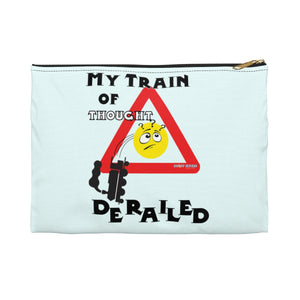 """Train of Thought"" Pouch"