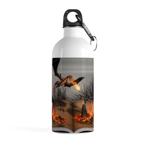 """Fire of Reading"" Stainless Steel Water Bottle"