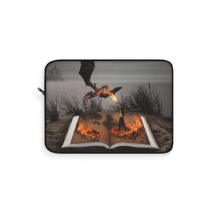 """Fire of Reading"" Laptop Sleeve"