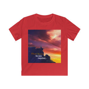 """Think Outside"" Kids Softstyle Tee"