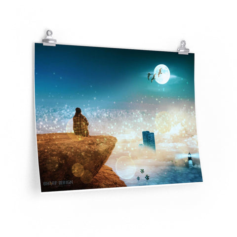 """Highest Ground"" Premium Matte horizontal posters"