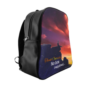 """Think Outside"" School Backpack"