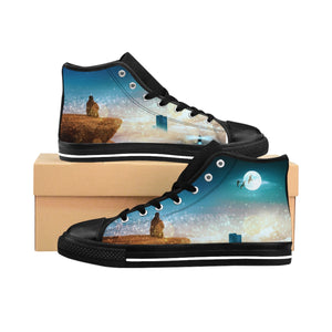 """Highest Ground"" Men's High-top Sneakers"