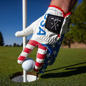 American Flag Golf Glove