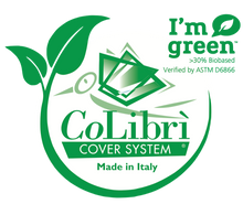 CoLibri ECO Book Covers - 3.5 mil Thick Transparent Book Covers