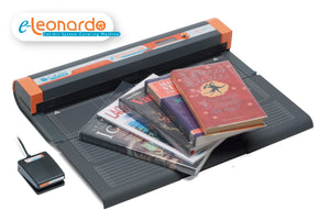 e-Leonardo book covering machine