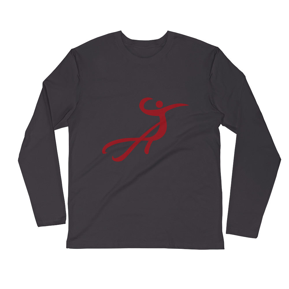 DANCE Long Sleeve Fitted Crew
