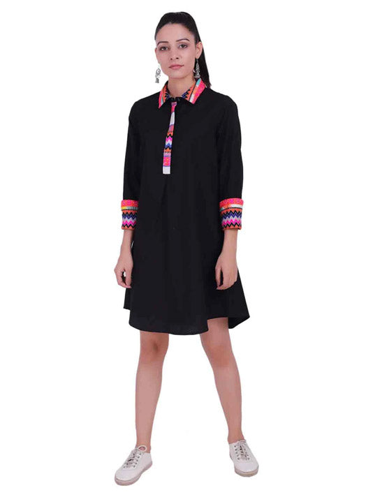 Jacquard Black Beauty Tunic