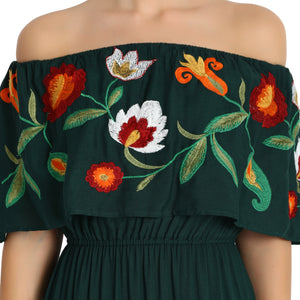 Rena Love Embroidered Dress :
