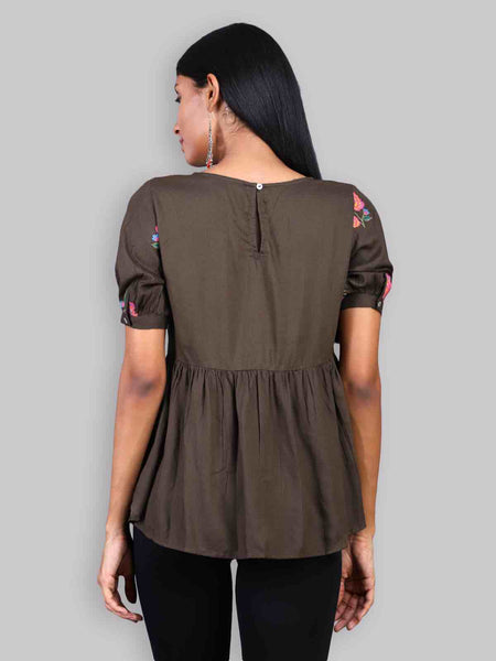 Rena Love Fierce Embroidered blouse