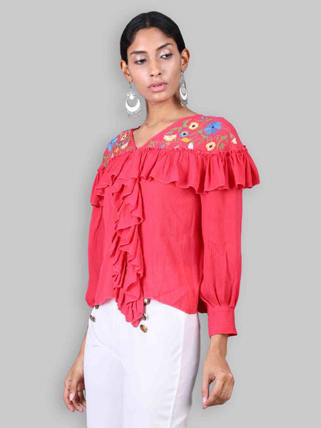 Rena Love Dream Embroidered blouse