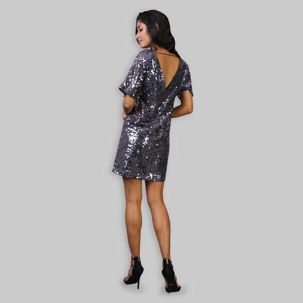 Rena Love Blurry Nights Sequined Dress