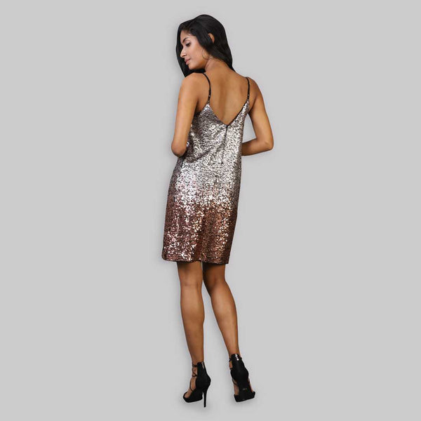 Rena Love Ombre Sequin Dress