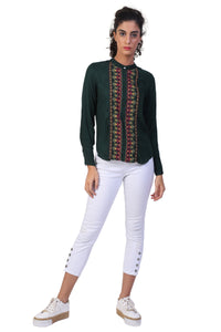 Rena Love Embroidered Blouse :