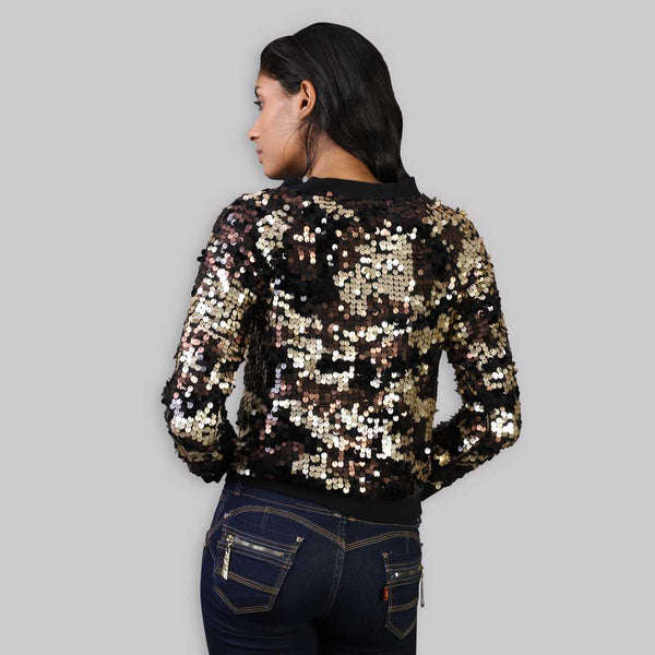 The Rena Love All over Sequined Marley Jacket