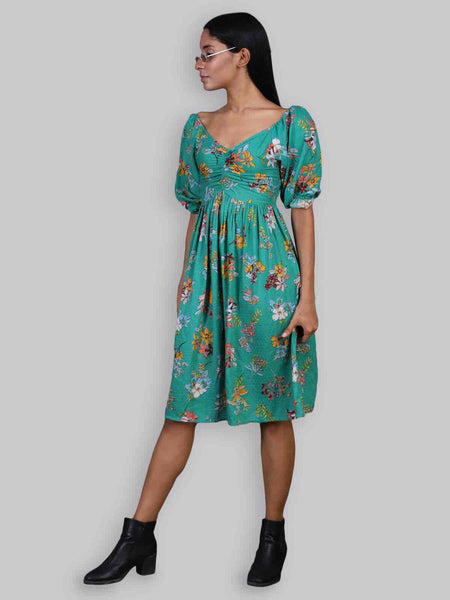 Rena Love Forest Printed Dress