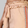 Peach Embroidered Magic Trousers