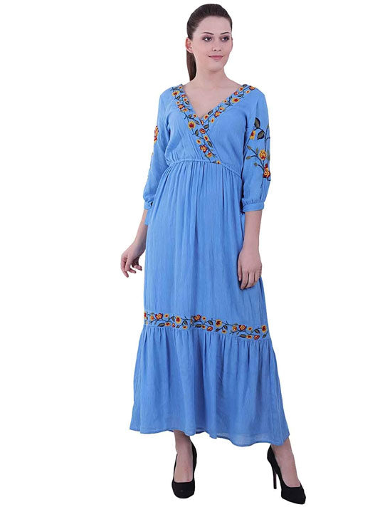 Mia Embroidered Dress