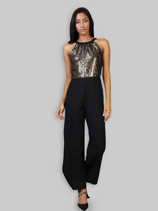 On Fleek Sequin Jumpsuit
